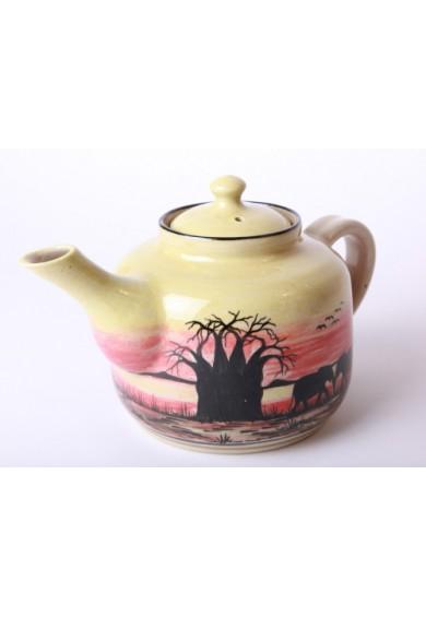 Ceramic Teapot and lid