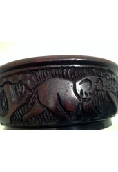 Hand crafted wooden bowl 10CM